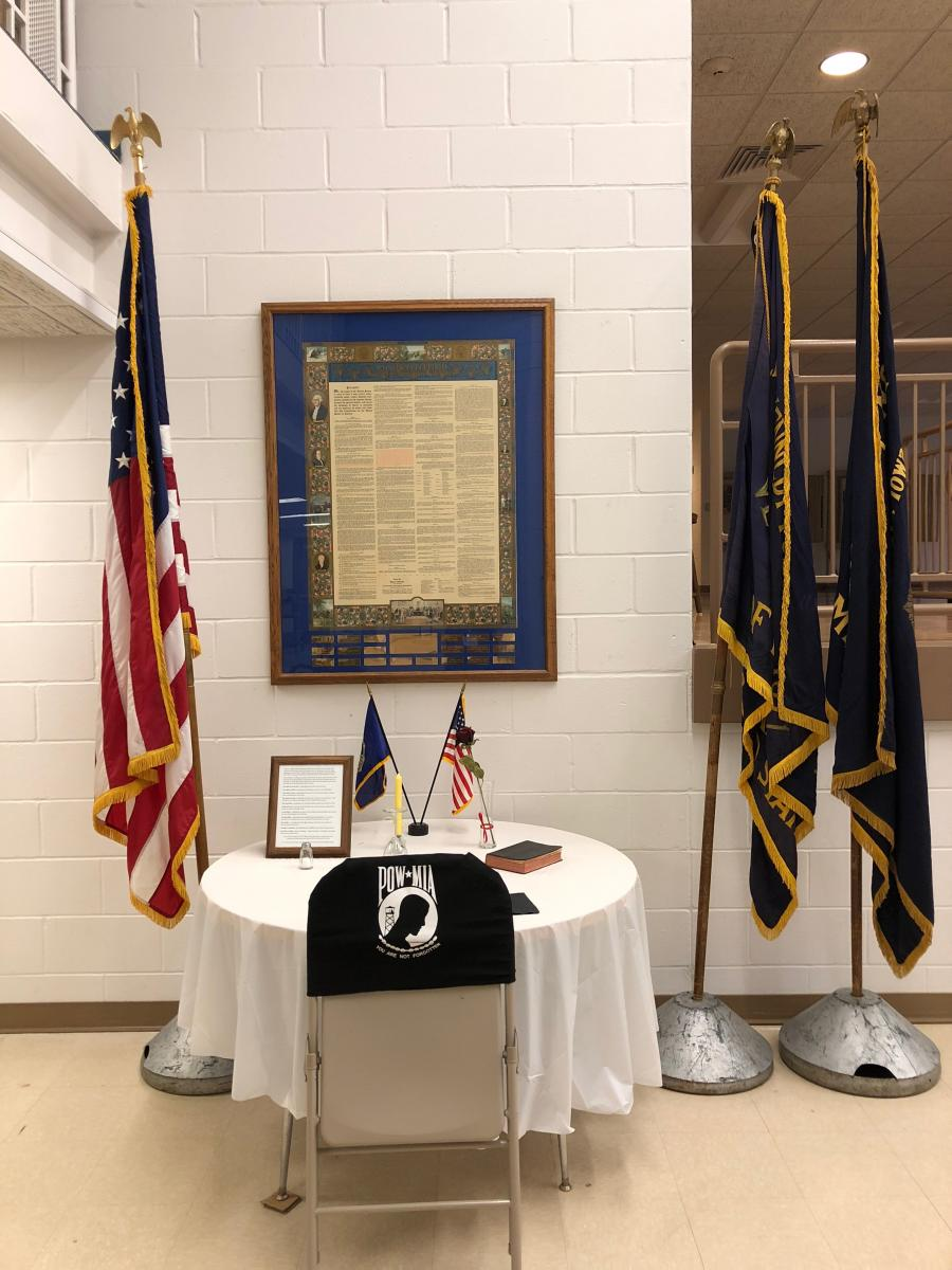 POW-MIA Display